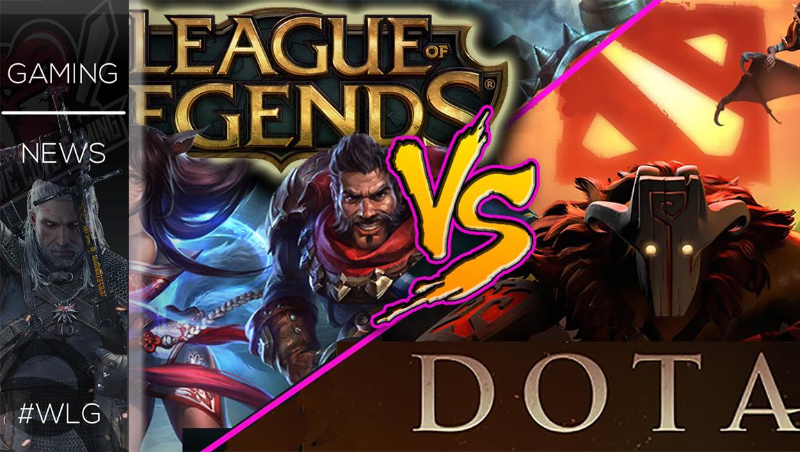 LOL VS DOTA MOD για το Warcraft 3!