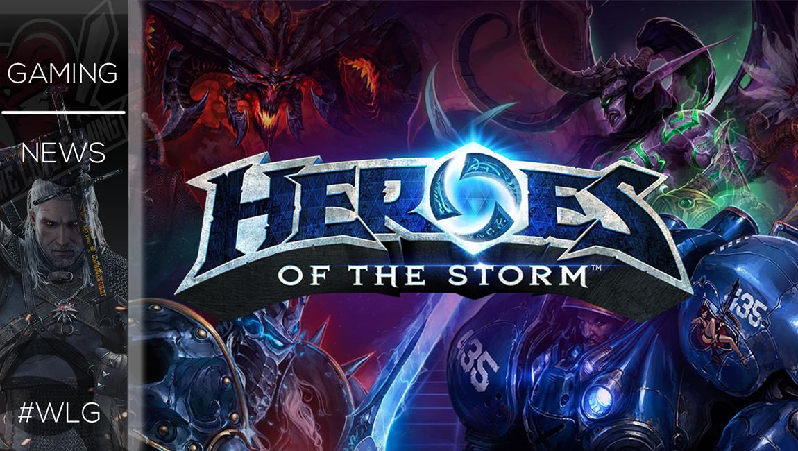 Live το patch με τον Dehaka στο Heroes of The Storm!