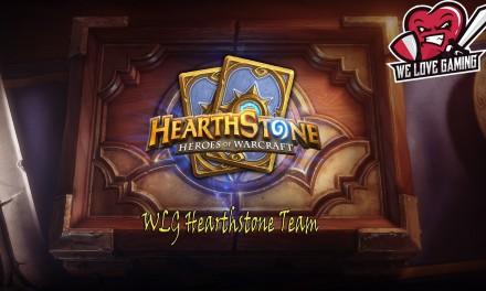 Παρουσίαση του Hearthstone Team των WLG!!