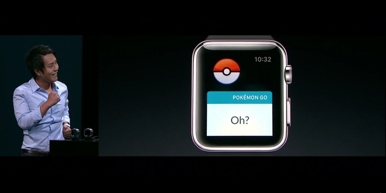 Το Pokemon GO σύντομα σε apple watch!
