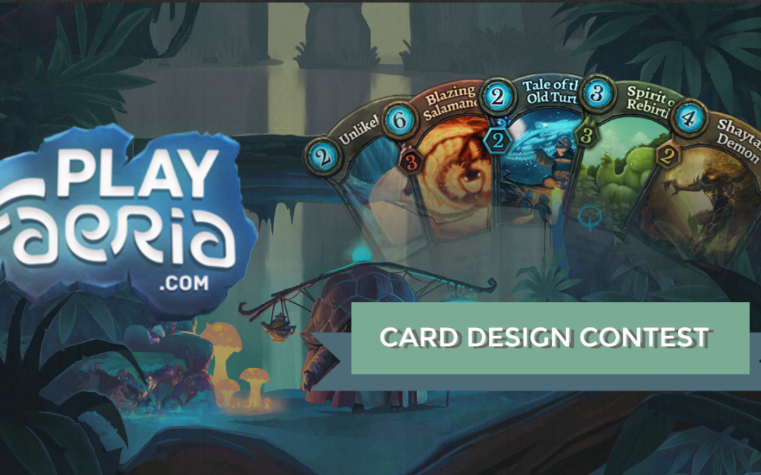 Διαγώνισμος δημιουργίας καρτών στο Faeria!