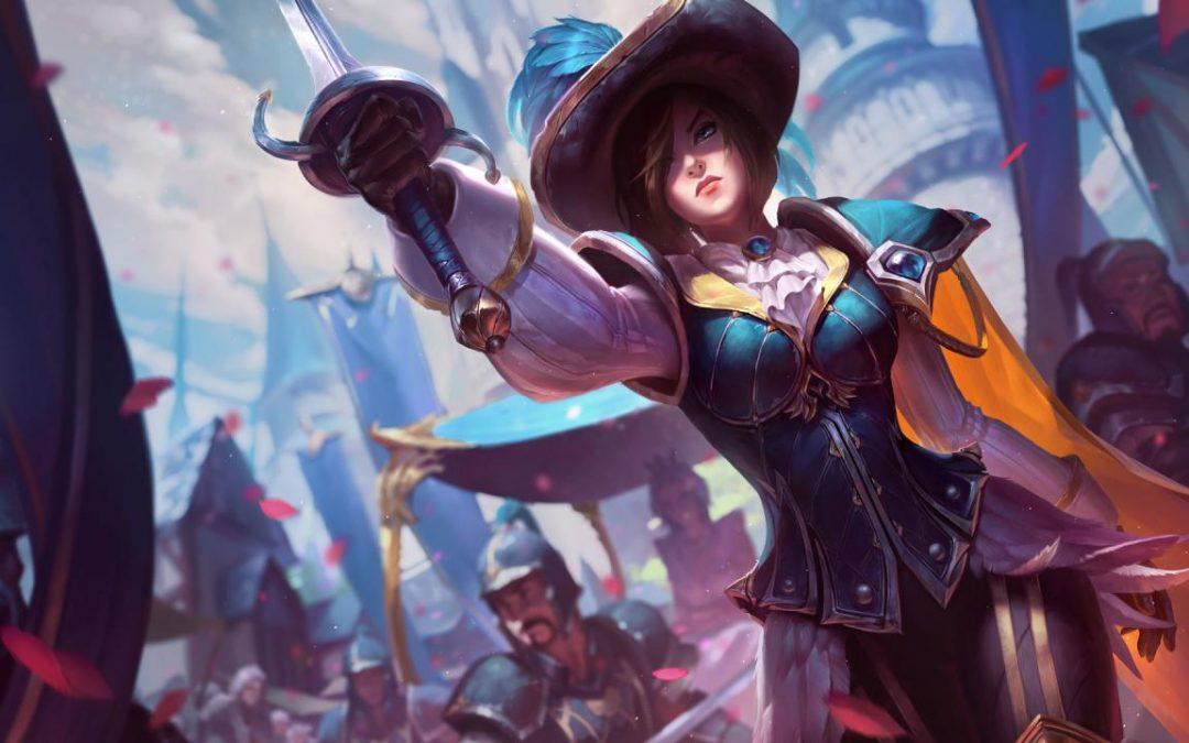 League Of Legends: Ενημέρωση των Splash Art της Fiora & Fiora Bundle