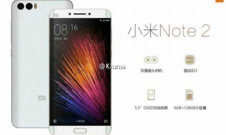 Xiaomi Mi Note 2: Διέρρευσε  Καινούρια Συσκευή με 8gb Ram (?)