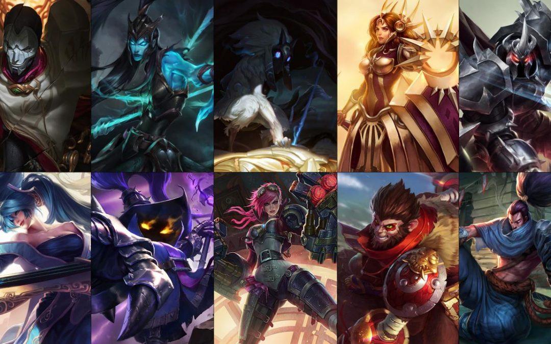 League Of Legends Champion Rotation 27/9 – 3/10