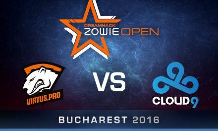 Νικήτρια η Virtus.Pro vs C9 στο DreamHack Open Bucharest Finals