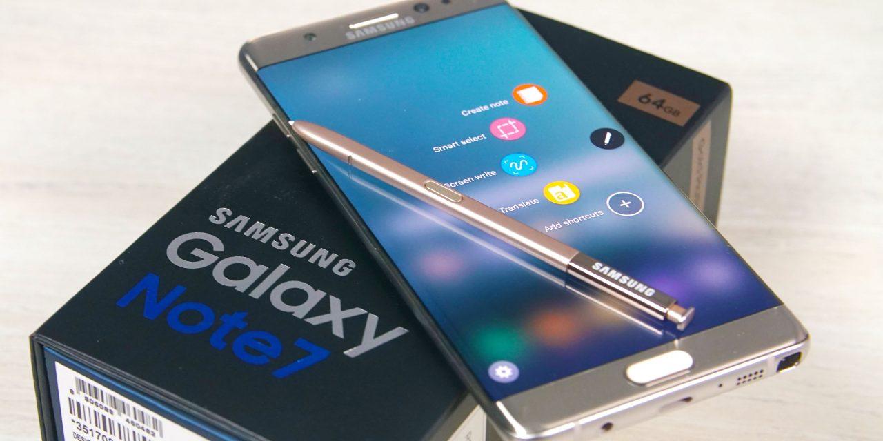 Φάκελος Samsung Galaxy Note 7: Closed!