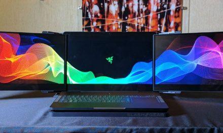 Laptop με τριπλή οθόνη…. by Razer! Project Valerie!