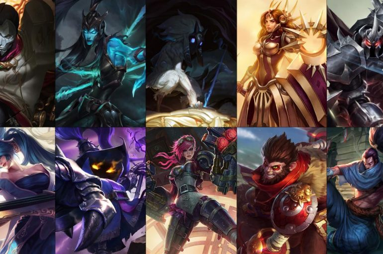 League Of Legends Champion Rotation 27/9 – 3/10