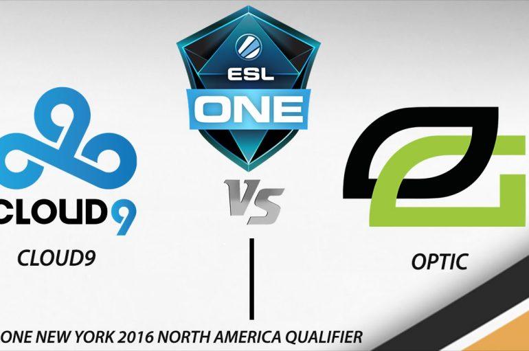 Νικήτρια η Optic Gaming ενάντια της Cloud9 για το ESL One New York Qualifier