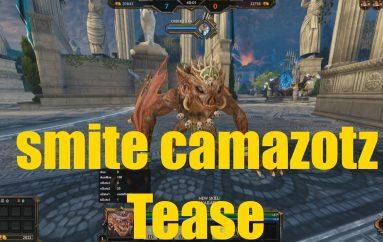 Smite : Νέος θεός με το όνομα Camazotz
