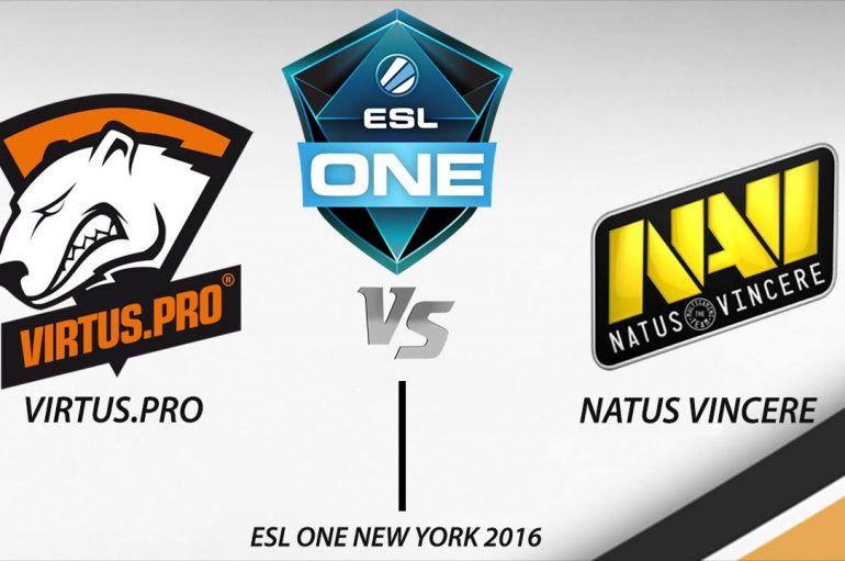 Νικήτρια η Natus Vincere ενάντια της Virtus.Pro στον τελικό του ESL One New York 2016