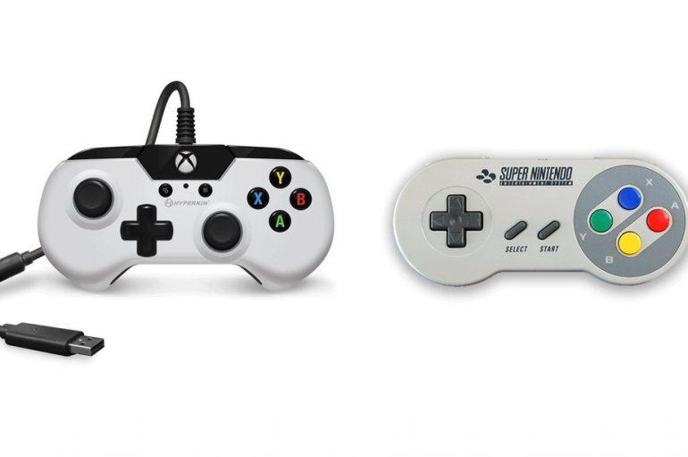 SNES-Style Controller για το XBOX ONE και το PC