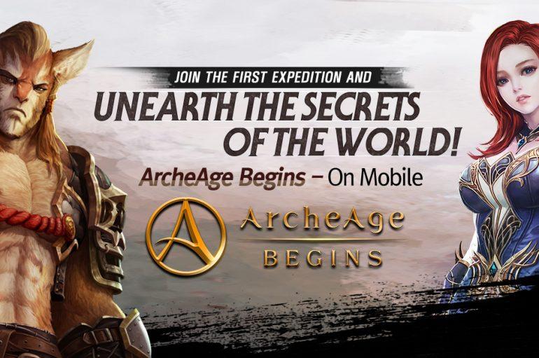 Ξεκίνησε η Closed Beta για το ArcheAge Begins!