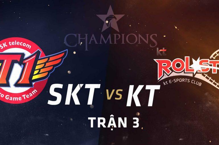 Συντονιστείτε για τους τελικούς του LCK! SKT VS KT!