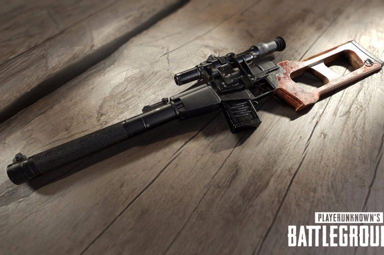 Το PlayerUnknown's Battlegrounds προσθέτει το VSS Vintorez τον επόμενο μήνα!