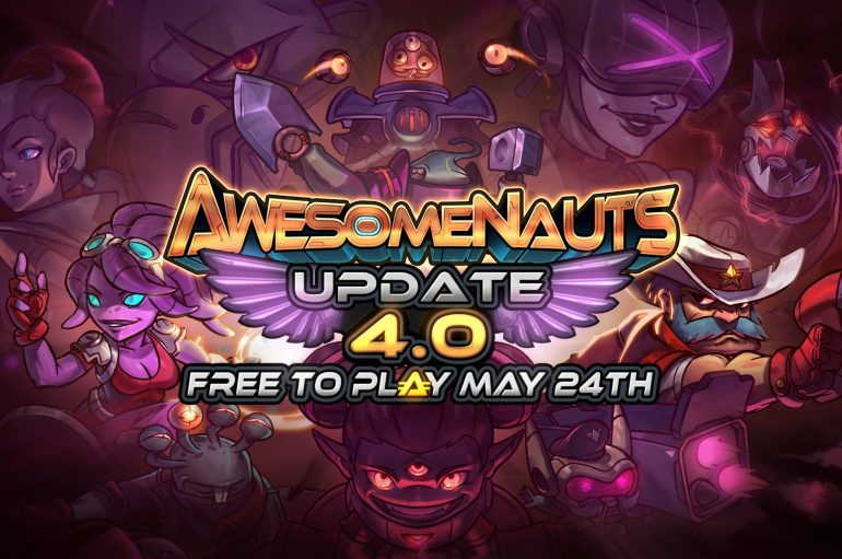 Free to play το Awesomenauts! + GIVEAWAY