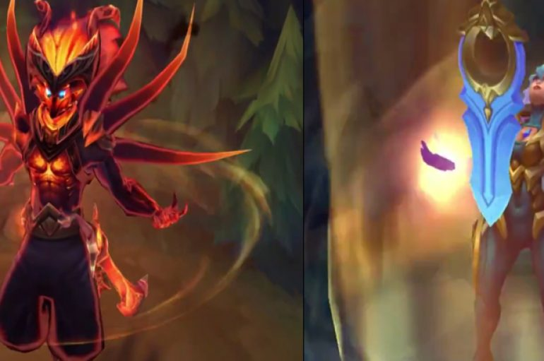 League Of Legends: Nightbringer Yasuo & Dawnbringer Riven