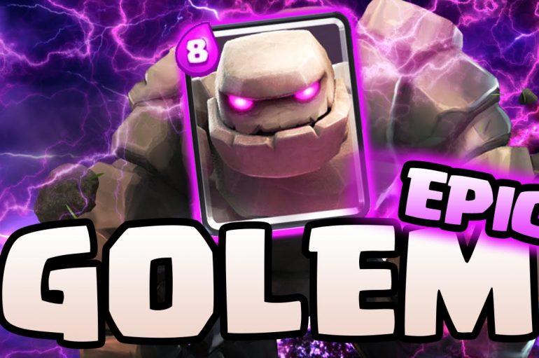 Golem Lumberjack deck – Clash Royale