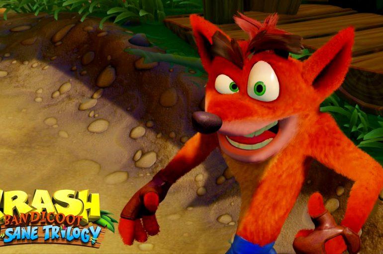 Χαμός με το Crash Bandicoot !