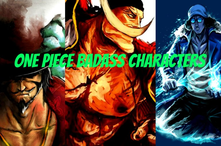 TOP 10 Badass Χαρακτήρες One Piece!