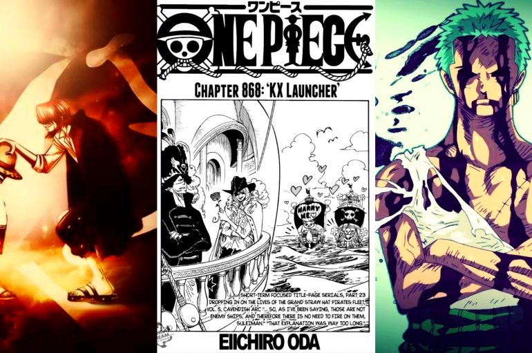 One Piece: Σχολιασμός Chapter 868