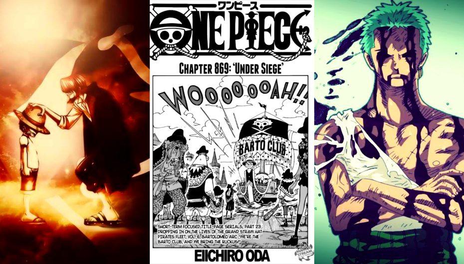 One Piece: Σχολιασμός Chapter 869