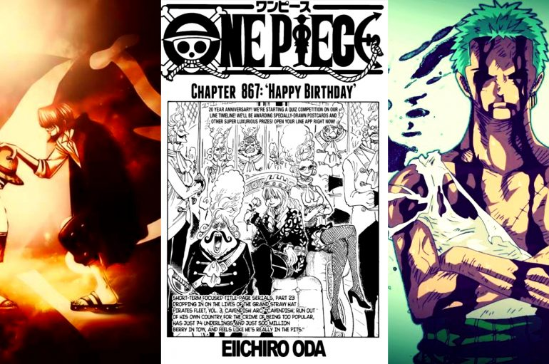 One Piece: Σχολιασμός Chapter 867