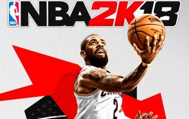 Kyrie Irving Εξώφυλλο στο NBA 2K18 !