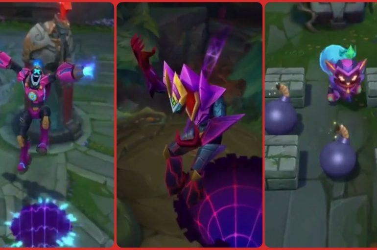 League Of Legends: Battle Boss Brand, Malzahar, Ziggs & Arcade Summoner's Rift!