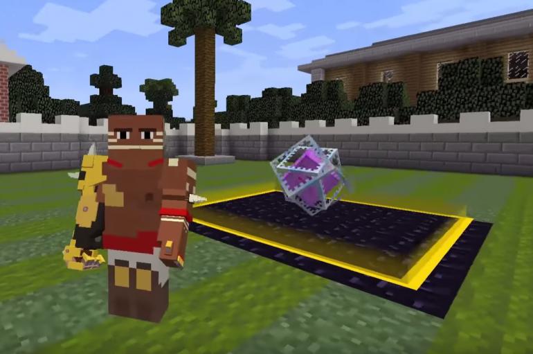 Overwatch: Fan δημιουργεί τον Doomfist στο minecraft μαζί με όλες τις ικανότητές του!