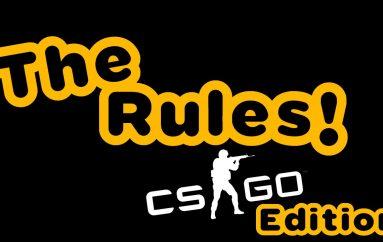 Οι 10 άγραφοι κανόνες του CSGO απο τον NadeKing