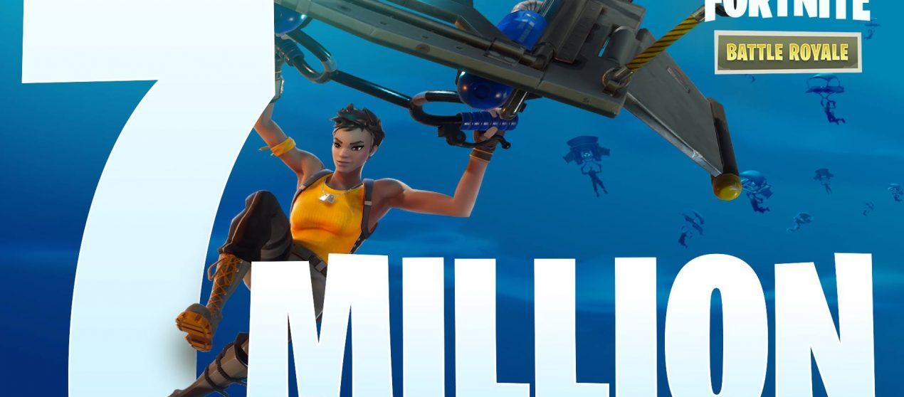 Εφτά εκατομμύρια παίχτες παίξανε fornite!