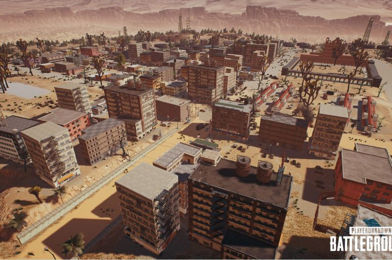 PlayerUnknown's Battlegrounds : Ένα update για το minimap του καινούριου desert map κυκλοφόρησε.