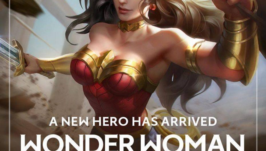 Διαθέσιμη η Wonder Woman στο Arena of Valor!