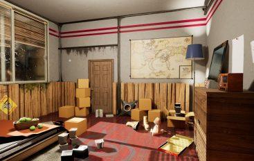 Δείτε το δωμάτιο του Naruto σε UE4!